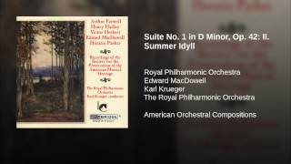 Suite No. 1 in D Minor, Op. 42: II. Summer Idyll