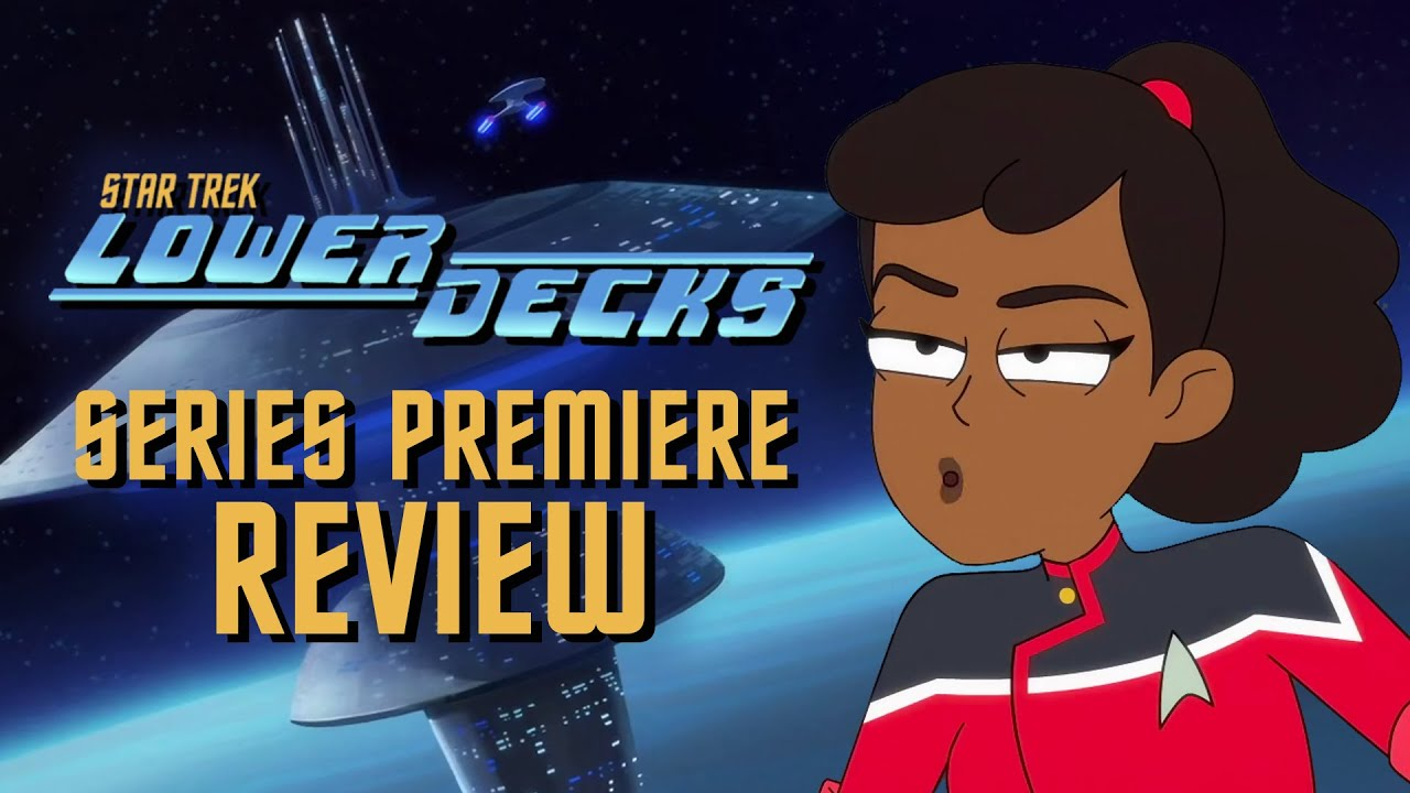 Lower Decks is a Comedic Love Letter to Star Trek (Premiere REVIEW)