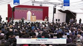 Friday Sermon 25 October 2019 (Urdu)