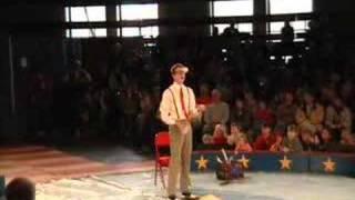 Circus Smirkus at First Night Burlington 2008: Crazy Contorted Juggling