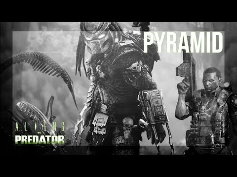 Aliens vs. Predator (2010) - Mission 6 - Pyramid - Marine - Campaign / Gameplay