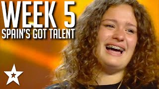 Spain's Got Talent 2021 AUDITIONS | WEEK 5 | Got Talent Global