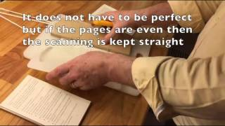 How To Scan A Book That You Don't Want To Keep