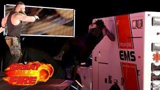 vuclip Roman Reigns vs. Braun Strowman - Ambulance Match: WWE Great Balls of Fire 2017