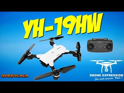 YH 19HW DJI SPARK DESIGN PRESENTATION UNBOXING REVIEW FLIGHT TEST HOBBYGAGA DRONE EXPRESSION FRENCH