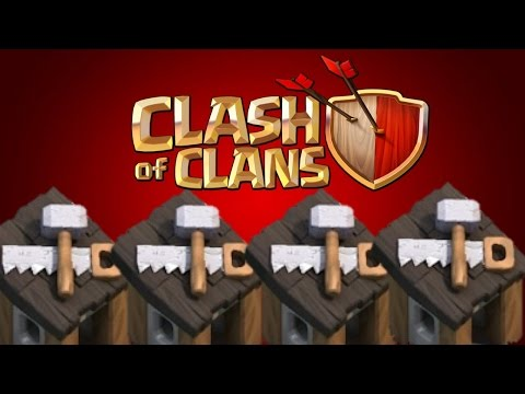 Clash of Clans - How To Get All 5 Builder Huts Fast & Easy!