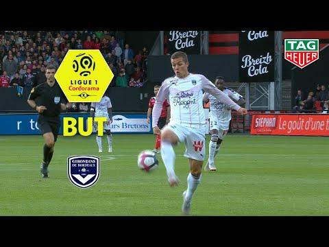 But Nicolas DE PREVILLE (90' +5) / EA Guingamp - Girondins de Bordeaux (1-3)  (EAG-GdB) / 2018-19