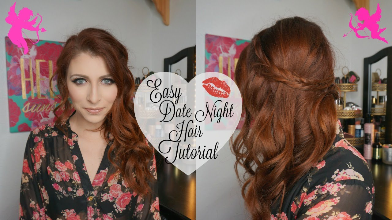 easy date night hair tutorial | tiffaneyandcoxo