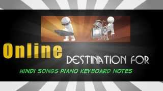 HINDI SONGS ON PIANO KEYBOARDS