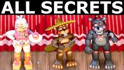 FNAF 6 - All Secrets, Easter Eggs, Achievements & Rare Screens (Freddy Fazbear's Pizzeria Simulator)