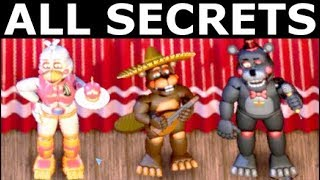 - FNAF 6 All Secrets, Easter Eggs, Achievements Rare Screens Freddy Fazbear s Pizzeria Simulator