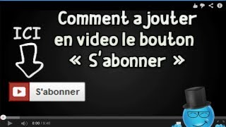 Programmation InVideo - Comment ajouter en vidéo le bouton