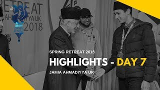 MKA NEWS - Jamia Spring Retreat 2018 - Day 7 Highlights