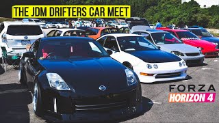 Forza Horizon 4 Drift JDM Car Show! Montage City Drifting And More!