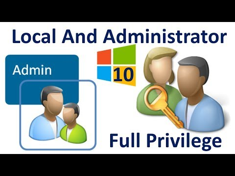 How to Create User Account in Windows 10 | with Local OR Administrator Privilege