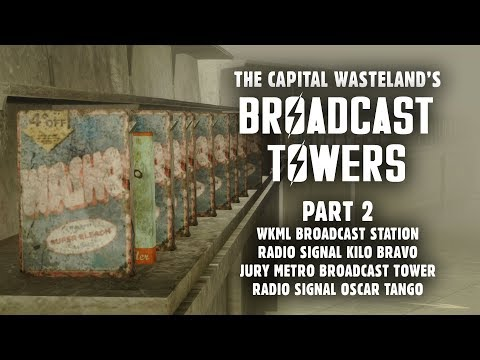 Broadcast Towers Part 2: Signals Oscar Tango, Kilo Bravo, & the Explosives Bobblehead