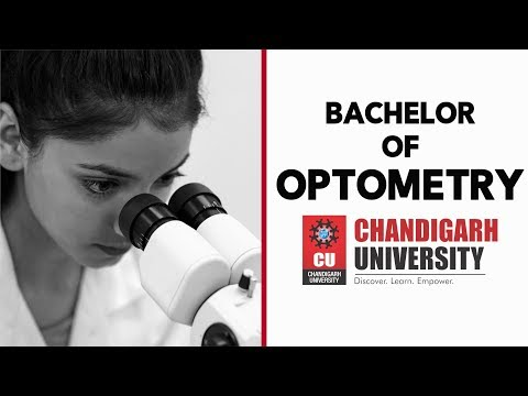 Optometry At Chandigarh University