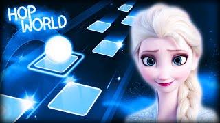 Let It Go - Frozen | Elsa | Tiles Hop | Disney Songs *RECORD*