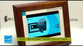 Giinii All-in-one Digital Picture Frame - How To Use
