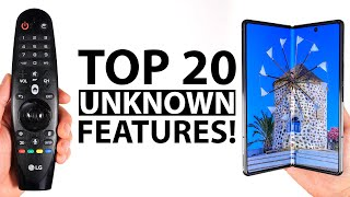 Top 20 Unknown Samsung Galaxy Fold 2 Features!