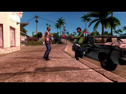 GTA San Andreas [PC] Remastered HD Textures & HQ Models MMGE 3 ENB 1080p