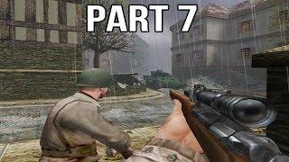 Medal of Honor Allied Assault Gameplay Walkthrough Part 7 - Sniper