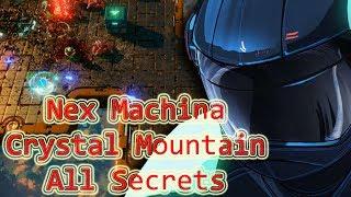 Nex Machina : Stage 2 Walkthrough All Secrets (Crystal Mountain)