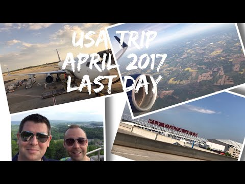 USA Vlog Series - Nashville/Dollywood- April 2017 - Chattanooga and travelling home