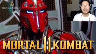 "Sektor Looks AMAZING! - Mortal Kombat 11: Story Mode ""Liu Kang"" (Chapter 3)"