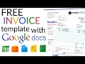Free Invoice Template -  How To Create an Invoice Using Google Docs Invoice Template