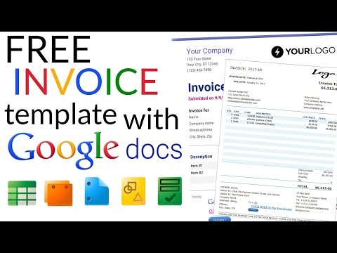 Free Invoice Software - Google invoice software