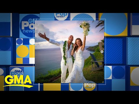 Dwayne Johnson marries over the weekend l GMA