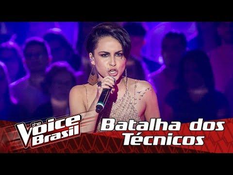 Rhaysa canta 'Karma' na Batalha dos Técnicos – 'The Voice Brasil' | 6ª Temporada