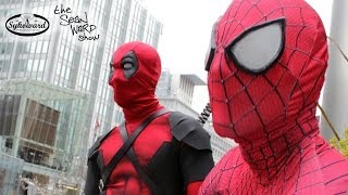 SPIDER-MAN meets DEADPOOL...