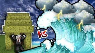 THỬ XÂY CĂN NHÀ CHỐNG SỐNG THẦN TRONG MCPE | Thử Thách SlenderMan | Minecraft PE 1.2