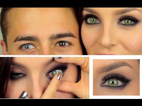coloured cosmetic contact lenses review desio