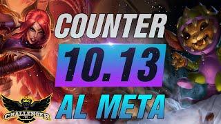 GANALE AL META! I MEJORES COUNTER PICKS para el parche 10.13