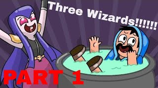 Clash Royale Animation-Drei Zauberer (TEIL 1)