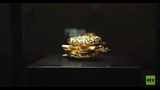 شاهد.. فطيرة ذهبية بقيمة 2.5 مليون يورو
