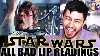 ALL STAR WARS BAD LIP READINGS Reaction by Jaby Koay
