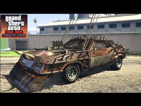GTA 5 Online.- 30 Mill Spending Spree!! Mad Max CUSTOMIZATION (Arena War UPDATE)