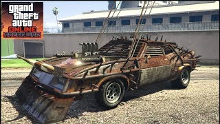 GTA 5 Online.- 30 Mill Spending Spree!! Mad Max CUSTOMIZATION (Arena War UPDATE)