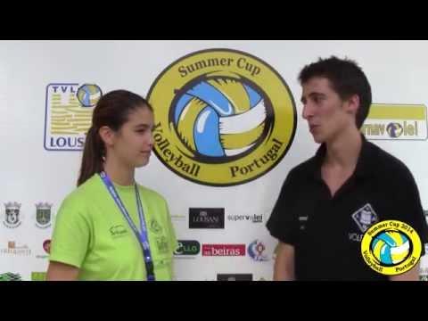 Summer Cup Flash Interview   João Ribeiro - AA S. Mamede