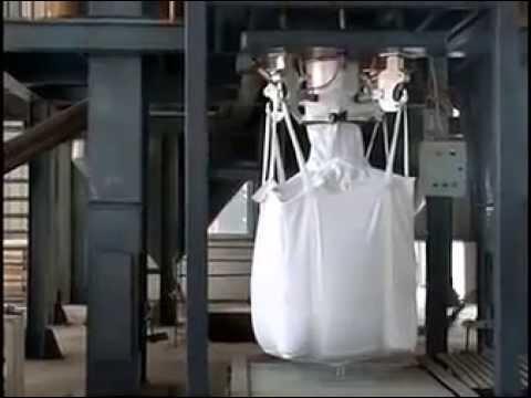 Бурбег - устройство для растаривания мешков, Биг Бегов. - YouTube
