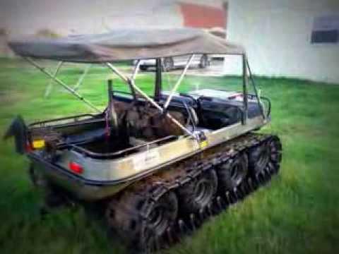 Up For Sale At 1800 Argo Conquest 8x8 Amphibious Atv