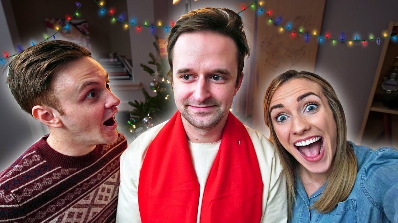 WHEN JESUS SHOWS UP AT CHRISTMAS (funny!)