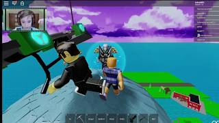 Playing FORTNITE on Roblox with GabGame 019