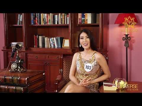 INTERVIEW | Nguyễn Thị Ngọc Thúy, SBD 103 | Top 45 Miss Universe Vietnam
