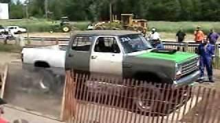 Mopar 440 burnout contest, Dodge Ram
