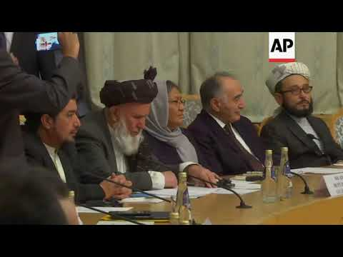 Russia hosts meeting on Afghanistan Mp3